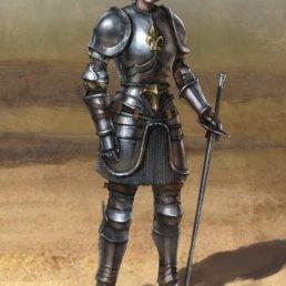 Joan of Arc Deadliest Warriors