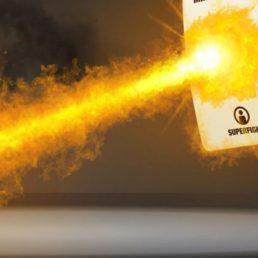 Superfight screenshot of a winning animation