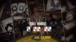 Prominence Poker Screenshot showing a full house.