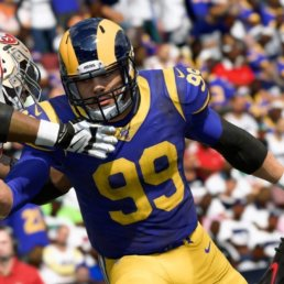 Madden NFL Rams and 49ers