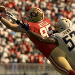 Madden NFL 20 49ers and Chargers